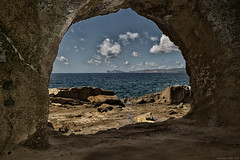 Alghero (Mauro Nuvoli) Tags: alghero sardegna italy seascape clouds cave
