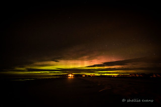 Aurora Australis- The Southern Lights, Taieri Mouth, South Otago