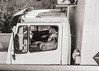 (Fresh Perspective with a Twist) Tags: trucker truck semitruck portrait sepia italy