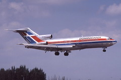HI-212 MIA 21-3-1982 (Plane Buddy) Tags: hi212 boeing 727 1j1 dominicana miami mia
