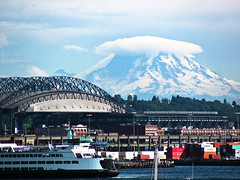 Seattle (brp1113) Tags: pacificnw pacificnorthwest outdoors landscape safecofield safeco mountrainier mountain rainier washington seattle
