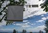 per me le mollette sono sempre fonte d'ispirazione (Clay Bass) Tags: 1030 monforte backlight clothespins clouds nikon1v3 rag rays summer trees