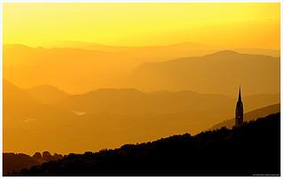 tramonto della