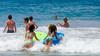Attack the Little Waves (Kevin MG) Tags: beach ocean water sand bikini bikinis bathingsuit bathingsuits surf zumabeach losangeles malibu girl girls young youth cute pretty little boogieboard fun summer