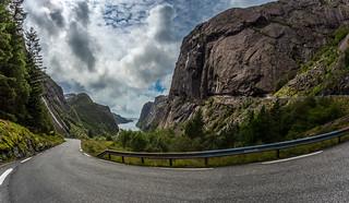 Ascent from Jøssingfjorden