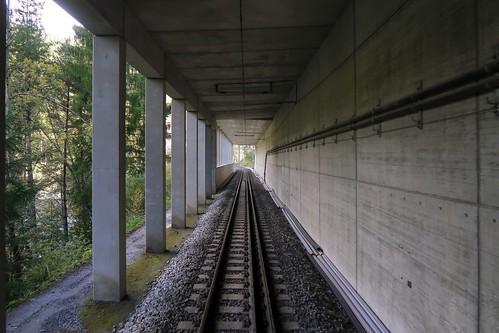 Ruinaulta - RhB Rockfall Gallery Valendas/Sagogn