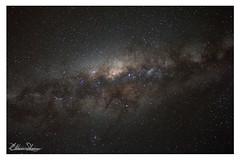 Um pedaço da nossa Via Láctea (eliton sloma) Tags: noite longa exposição noturnas estrelas stars via láctea milky way