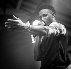 Romain Virgo (Pierre de Champs) Tags: romainvirgo concert music portrait reggae jamaica caribbean guadeloupe lakasa blackandwhite nikon d750