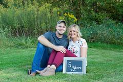Leslie & Bryce Anniversary Session (sarahkathleendavis) Tags: september 2017 outdoors outside husband wife couple fall chalkboard anniversary