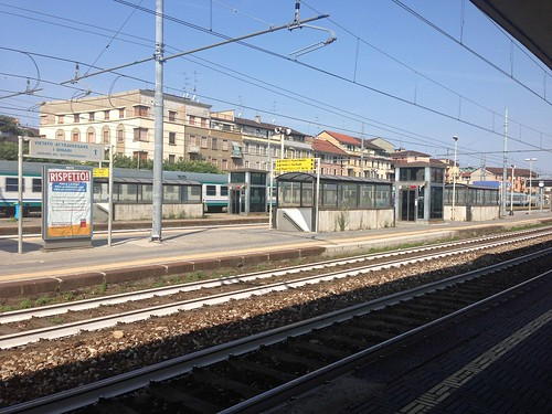 Milano Lambrate railway station platform