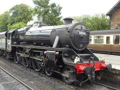 2017-07-29 - P1050279 - NYMR - 44806 replacing 76079 (GeordieMac Pics) Tags: nymr grosmont locomotive steam engine panasonic lumix dmc fz200 geordiemac 44806 black5 ©2017georgemcvitieallrightsreserved