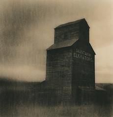 Eye in the Big Sky (micalngelo) Tags: analog filmphoto grainelevator montana alternativeprocess alternativephotography lithprint lithprocess moerschlith