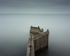 Zigzag (Scott Baldock) Tags: long exposure firecrest 16 stops nd filter daytime coast surreal ethereal colour groyne seascape
