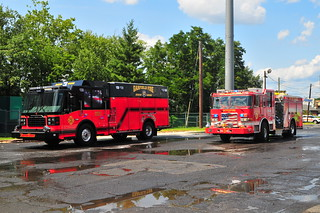 Garfield Fire Department Rescue Engine 3 · Rutherford Fire Department Engine 3