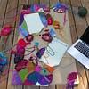Narrative crochet en plein air (crochetbug13) Tags: crochetbug crazyquiltcrochet embroideryoncrochet narrativecrochet crochetpanels crochetrectangles crochetsquares crochetblanket crochetafghan crochetthrow
