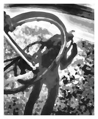The Port (GR167) Tags: fisheye creativeselfie blackandwhite reflection silhouette olloclip