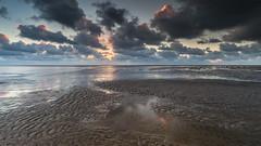 Sunset in Ouddorp (Wim Boon (wimzilver)) Tags: wimzilver wimboon ouddorp beach holland nederland netherlands leefilternd09softgrad leelandscapepolariser canoneos5dmarkiii canonef1635mmf4lisusm