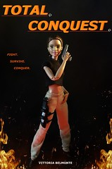 TOTAL CONQUEST SOLO POSTER (MaxxieJames) Tags: total conquest vittoria belmonte claude action movie man barbie doll mattel collector made move teresa brunette film dravin