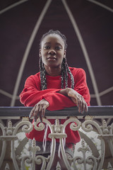 Model: Dafrosa Etoha (Before: Elisbeth Rose) Tags: girl fashion portrait photoshoot model pullandbeard autumn red photoshop canon canoneos6d canon6d 6d 50mm 50mm18