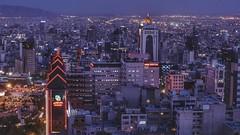 Tehran by night (Oscar W. Rasson) Tags: iran persia tehran city nikon