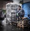 Peddler (Henka69) Tags: street streetphoto streetcolour salesman break smoking kvibergsmarknad göteborg gothenburg