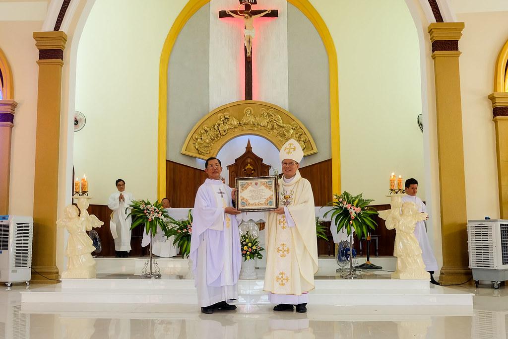 Thánh lễ tạ ơn khánh thành nhà thờ Hòa Cường – Giáo phận Đà Nẵng - Ảnh minh hoạ 59