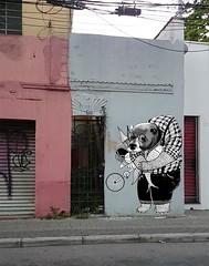 Urso Urbano (Alegraziani Produto Ilustrado (11) 96175.8787) Tags: grafiti parede art artist arte artwork economiacriativa empreender jundiai arteemjundiaí urso bear