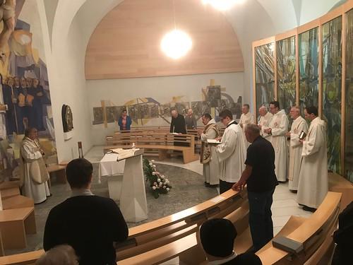 Silbernes Professjubiläum Pater Thomas