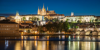 Prague Castle at night, Prague #22