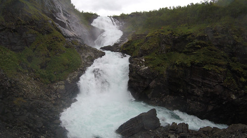 228 Kjosfossen Waterfall