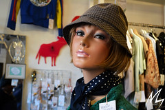 A model of a human figure (Madhusudan dv) Tags: model human figure fida international finland helsinki nikon d5200 ms girl womens costumes shopping mall europe passion