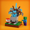 Ze Throne of Steve (Minecraft) (ze.captain.chris) Tags: lego afol got minifig minifigure minecraft minecart videogame throne ironthrone