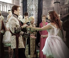 Ariel and Prince Eric (Guardian Screen Images) Tags: once upon time tv show series magic 2011 enchanted forest ariel prinice eric princess the little mermaid ocean water under sea joanna garcia swisher gil mckinney