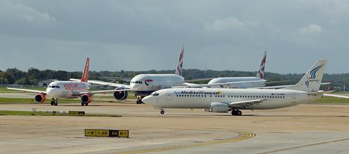 Air Mediterranean / Boeing 737-405 / SX-MAH