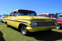 1959 Chevrolet Bel Air (bri77uk) Tags: kiama rodrun chevrolet 59chevy
