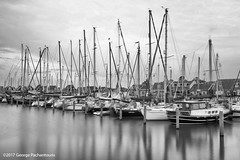 Sailing boats on the port of Marken, Netherlands (George Pachantouris) Tags: marken blackandwhite black white monochrome long exposure nd400