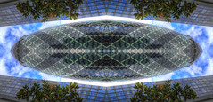 Planet Gherkin (andy.gittos) Tags: gherkin london abstract art fun symmetry shapes mirror reflection skyscraper building architecture planet