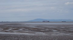 Morecambe Bay (Tangerinesoulman) Tags: morecambe bay sea blue stenaline ship boat cargo heysham ireland