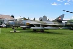 J-4067 Hawker Hunter F.58 @ Musée Européen de l'Aviation de Chasse 15th June 2016 (_Illusion450_) Tags: aérodromedancone montélimar muséeeuropéendelaviationdechasse 150616 museum lflq xmk aeroplane aviation avion aircraft airplane flugplatz j4067 hawker hunter f58