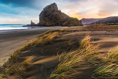 Lion Rock (robjdickinson) Tags: water landscape dawn travel sand ocean sea seascape seashore beach noperson rjdlandscapes canon 5dmk4
