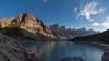 Sunset at the Lake (MrBlackSun) Tags: reflections lake moraine lakemoraine alberta canada nationalpark banff national park banffnationalpark nikon d810