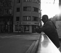 Huggy (Ren-s) Tags: olympus em10 m1442mm f3556 bruxelles brussels belgique belgium europe sun soleil sky city ville town capital capitale silhouette backlight road street rue route pointdevue pointofview people personne portrait sunglasses lunettes bnw bw black blackandwhite blackwhite white noir nb noiretblanc noirblanc contrast contraste 7dwf new outside mono walk candid world