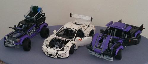 Lego Technic 42069 Extreme Adventure Modified With Unimog Wheels