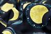 solar eclipse mandala spoonflower 03082017 close up (Scrummy Things) Tags: spoonflower contest winner top10 black stripe mandala solar lunar sun moon illustrative illustration pattern scrummy sharonturner fabric wallpaper