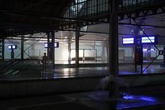 Wrocław Główny train station 11.08.2017 (szogun000) Tags: wrocław poland polska railroad railway rail pkp station wrocławgłówny tracks platforms hall d29132 d29271 d29273 d29276 d29285 d29763 e30 e59 evening storm rain power failure dolnośląskie dolnyśląsk lowersilesia canon canoneos550d canonefs18135mmf3556is