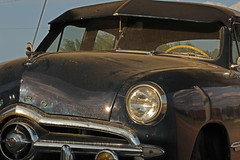 Ford Custom Sedan (buickstyle232) Tags: 1949fordcustomsedan 1949 ford mcphersonkansas mcphersonks old81 us81 kansas offtheinterstate oldcars cardetails hoodornaments