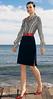 124y (midorijoho) Tags: blouseshirt skirtsuit belt highheel