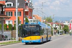 2691 - 2 (CometBG) Tags: sofia vehicle outdoor trolleybus trollino skoda solaris