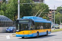 1621 - 5 (CometBG) Tags: sofia vehicle outdoor trolleybus trollino skoda solaris