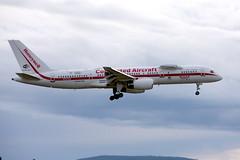 Honeywell International N757HW, OSL ENGM Gardermoen (Inger Bjørndal Foss) Tags: n757hw honeywell boeing 757 osl engm gardermoen